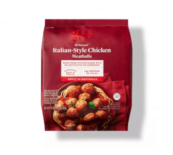 All Natural Italian-Style Chicken Meatballs
